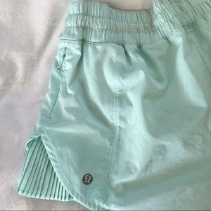 Blue lulu lemon shorts size 4